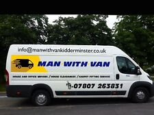 Cheap man with a  van removals Kidderminster Bewdley Tables Sofas Moves
