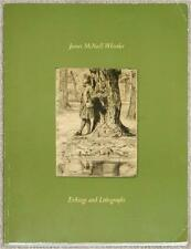 JAMES McNEILL WHISTLER ~ ETCHINGS & LITHOGRAPHS ~ CATALOG CG BOERNER ~ SC