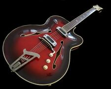 "Musima ""SPEZIAL"" '60s Vintage Hollowbody Jazz/Blues-Gitarre - ""German Carve"""