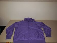 Nike Purple Windrunner Hooded Jacket NEW Hoodie Athletic Polyester Coat Mens XL