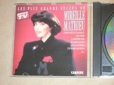 CD / MIREILLE MATHIEU / LES PLUS GRANDS SUCCES / EXCELLENT ETAT