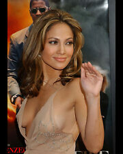 JENNIFER LOPEZ 8X10 PHOTO PICTURE PIC HOT SEXY BOOBS SEE THROUGH DRESS 12