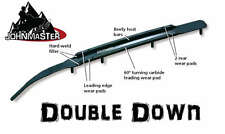 """8"""" Snowstuds DOUBLE DOWN Carbide Runners Polaris Pro Steer Rush Switchback Pro-R"""