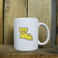Original I Tiger Louisiana Classic University Style Coffee Mug Tea Cup State