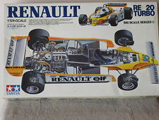 TAMIYA 1/12 Scale RENAULT RE-20 TURBO  F-1 Kit