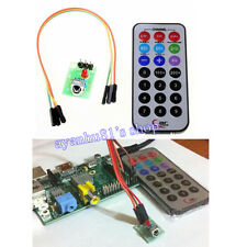 Brand New Raspberry Pi Infrared Remote Control IR Receiver Module DIY Kit HX1838