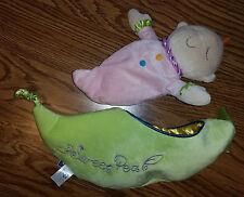 Sweet Pea Snuggle Pea Pod Stuffed Animal Plush Cute Baby Toy in Peapod