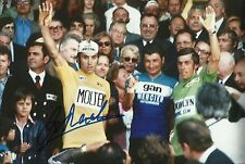 Eddy Merckx Genuine Hand Signed 12X8 Photo TOUR DE FRANCE WINNER (J)