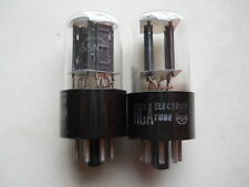 VINTAGE MATCHED PAIR OF 6SN7GT RCA  MADE IN U.S.A.