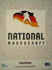CL 015 Checkliste DEB Nationalmannschaft DEL 2006-07
