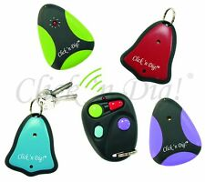 Click 'N Dig! Model E4 Key Finder. 4 Receivers. Wireless RF Item Locator. NIB.