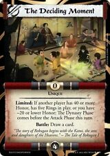 L5R EE Legal Promo - The Deciding Moment (The Celestial Court) 10,000th card