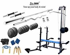 Protoner 50 KG  20 in 1 bench weight lifting home gym fitness pack