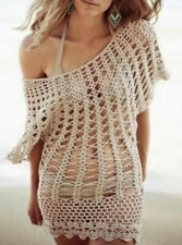 Crochet Beachwear Dress Cover Up  Size 6 to 10