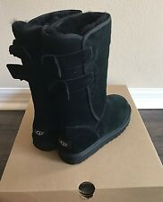 NWT UGG Women's Size 5 Tall Allegra Boot Black