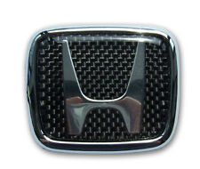 CARBON REAR H-BADGE TO CIVIC FD 05'- 11' CARBON CULTURE BRAND