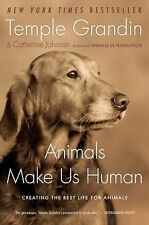 "Temple Grandin ""ANIMALS MAKE US HUMAN"" - Brand New Softcover"