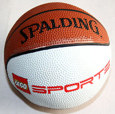 "VERY RARE LEGO SPORTS SPALDING NBA BASKETBALL 3432 15"" PERIMETER NEW UNUSED !"