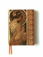 Mucha Cowslip and Documents (Foiled Journal) (Flame Tree Notebooks),