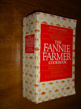 The Fannie Farmer Cookbook by Marion Cunningham Illustrated 13th Edition PB 1990