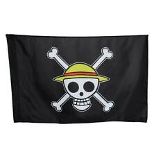 Cosplay One Piece Going Merry  Flag Straw Hat Skull Pirate Logo Monkey·D·Luffy