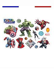 ►► Tatouage Temporaire Ephèmère Avengers Iron Man Hulk Captain America Thor Film