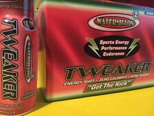 NEW Tweaker WATERMELON Extreme Energy Sports Drink 12 Pack/2oz Focus Alert