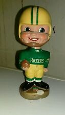 ORIGINAL 1968 GREEN BAY PACKERS PAPER MACHE BOBBLEHEAD