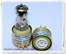1 × EF86 replace 6SJ7 6J8P 6*8 Vacuum Tube Amplifier Convert Socket Adapter