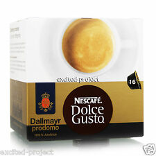 Nescafe Dolce Gusto - Dallmayr Prodomo Coffee Capsules - From Germany