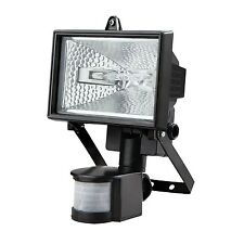 NEW 500W HALOGEN SECURITY FLOODLIGHT OUTDOOR LIGHT WITH PIR MOTION SENSOR