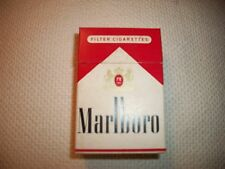 collectible Marlboro cigarette box without Surgeon General warning Circa l960