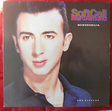 LP SOFT CELL/MARC ALMOND Memorabilia the Singles mercury 848512-1 OIS NL 1991