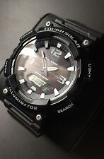 Mens Casio Tough Solar Watch AQ-S810W Illuminator 5 Alarm World Time
