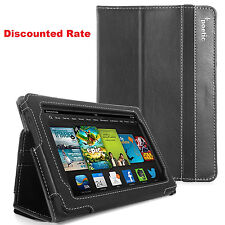 "Poetic Amazon Kindle Fire HD 7"" Inch (2013 Release) Cover Case :SlimBook: Black"