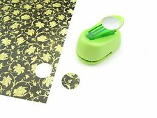 "1"" Circle Hole Punch - Craft Paper Punch - Scrapbooking - 1 Inch 25mm - Lime"