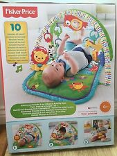 Fisher-price 1 en 3-musical activité gym rainforest amis neuf