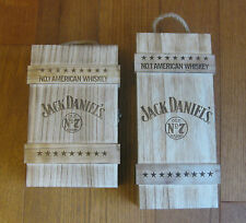 Jack Daniels Old No.7 70cl & 50cl Limited Wooden Box Set (Korean Import)