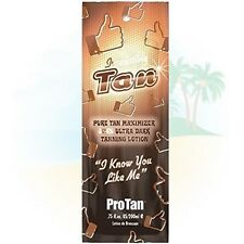 Pro Tan Irresistibly Tan Ultra Dark 20x Sunbed Tanning Accelerator Lotion - 22ml