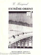 Catalogue de vente Boisgirard 1986 Art d'Asie Extreme-Orient Asian Estampe