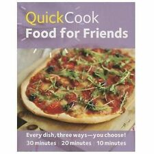 Quick Cook Food For Friends brand new Free shipping online manual