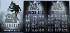 2011 AFL SELECT INFINITY CHECKLIST CARD 1 , 2 & 3 ALL AUSTRALIAN DRAFT