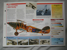 Aircraft of the World Card 38 , Group 14 - Hawker Hart / Demon
