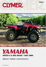 CLYMER SERVICE REPAIR MANUAL M490-3 YAMAHA BIG BEAR 350 4WD 1998 1999 4X4