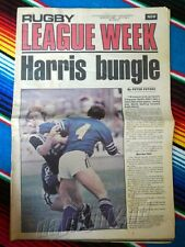 RUGBY LEAGUE WEEK 1980 Vol 11 No 2 WESTS MAGPIES Tigers NRL Big Magazine