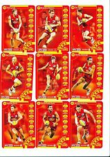 2013 TeamCoach Gold Coast team set 9 cards Team Coach