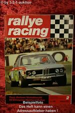 Rallye Racing 2/71 BMW 02 tii Touring Ford GT 70 A112 + Poster