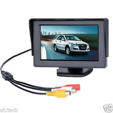 "4.3 "" TFT LCD Digital Monitor, Rear View Reverse Display for Car DVD VCR CCTV G9"