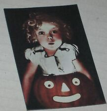 """Shirley Temple """"Spooky Halloween"""" Floppy Magnet  See Description 3"""" x 2"""""""