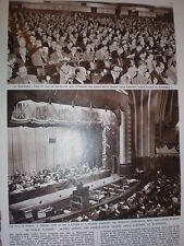 Photo article 89th TUC Trades Union Congress at Blackpool 1957